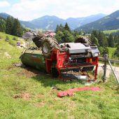 Landwirt bei Unfall schwer verletzt