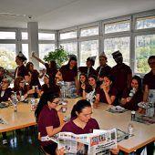 Vorarlberger Schüler als Nachwuchsjournalisten