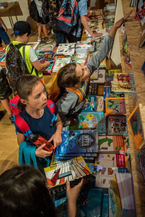 Größte Kinderbuchhandlung des Landes: ab 25. Juni in Götzis. VN/steurer