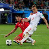 Kraftwürfel schießt Schweiz zum 2:1-Sieg
