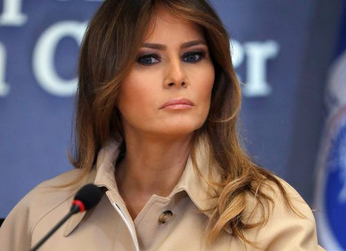 Die First Lady kritisiert die Einwanderungspolitik ihres Mannes. reuters