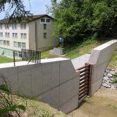 Wildbachprojekt in Lochau abgeschlossen