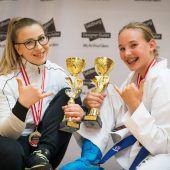 Ländle-Karatekas mit stolze Ausbeute