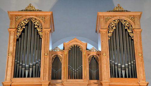 Die Hittisauer Orgel, ein Kleinod, stammt aus dem Jahr 1868. Gemeinde