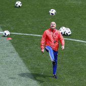 Ganz Russland hofft auf Sieg zum WM-Start
