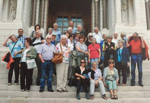 Die Jubiläumsreise des Jahrgangs 1938 führte an die Küsten Italiens und Frankreichs sowie nach Monte Carlo. Jahrgang 1938