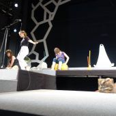 Die Bühne wird zum Labor