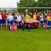 Anpfiff für das große Fußballfest