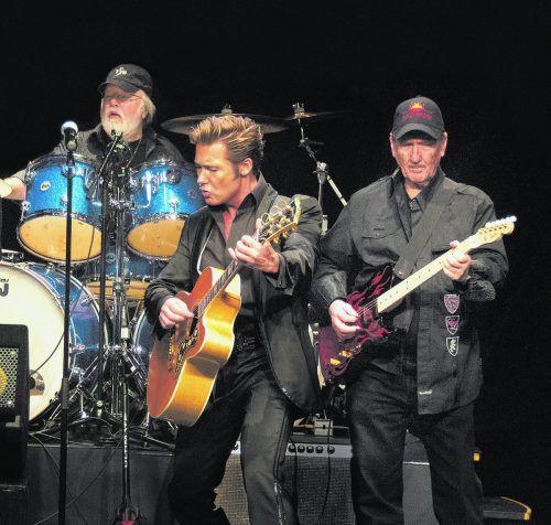 """Die """"Original Band of Elvis"""" und Dennis Jale lassen den King wieder aufleben – Special Guests beim Konzert in Bregenz sind """"The Monroes"""".isabelle Weigand"""