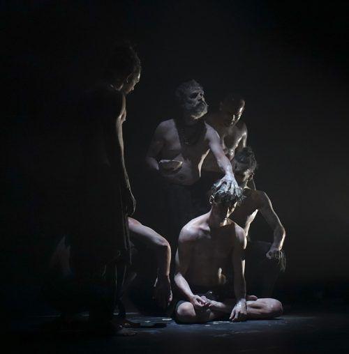 """Die Produktion """"Aghori"""" von Shailesh Bahoran wurde vom Publikum am Dornbirner Spielboden begeistert gefeiert. Rudolf Sagmeister"""