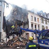 Fünf Verletzte bei Explosion in mehrstöckigem Wohnhaus