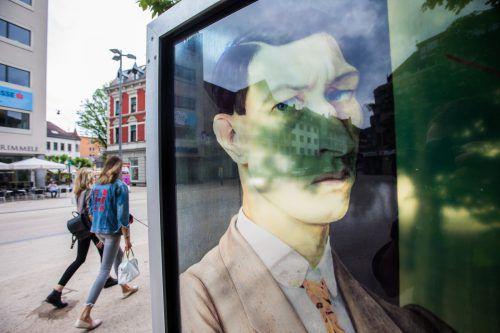 Die Wacker-Sichtfenster wurden nach einem Konzept der Kunsthistoriker Kathleen und Rudolf Sagmeister errichtet. VN/Steurer