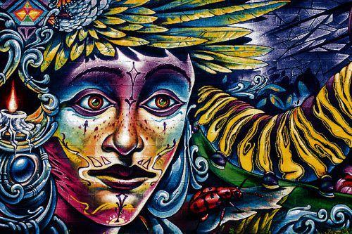 Die Wandmalereien sind im Stadtteil RiNo überall präsent. beate rhomberg
