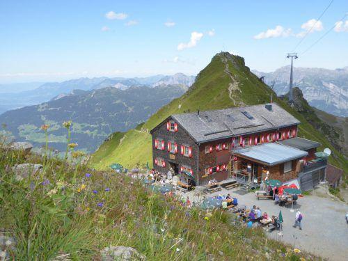 Die Wormser Hütte soll in den kommenden beiden Jahren ausgebaut werden.Zwischenbrugger