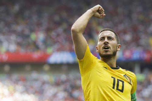 Eden Hazard zog gegen Tunesien die Fäden im belgischen Spiel. ap