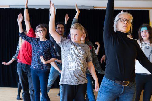 Ein Theaterprojekt über Trennungen aus der Sicht von Jugendlichen. MARK MOSMAN