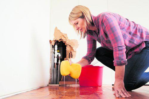 Ein Wasserschaden ist ein Ärgernis mit Folgen. foto: shutterstock