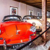 """<p class=""""caption"""">Eindrucksvoll: Porsche-Museum in Gmünd.</p>"""