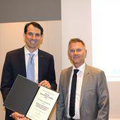 Wissenschaftspreis für jungen Mediziner