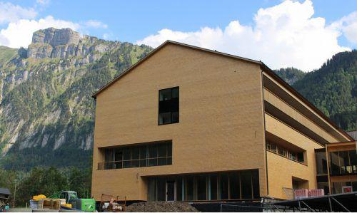 Ende August soll das neue Hotel Die Wälderin in Mellau eröffnet werden.