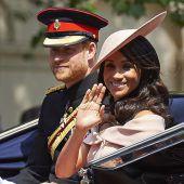 Prinz Harry und Meghan kündigen erste offizielle Auslandsreise an