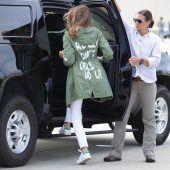 Statement-Jacke von Melania Trump löst Diskussionen aus