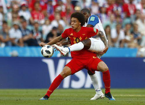 Es wird kein Spaziergang. Belgiens Mittelfeldspieler Axel Witsel warnt vor den kampfstarken Tunesiern.ap