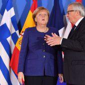 Merkel hofft im Asylstreit auf Deals mit EU-Partnern