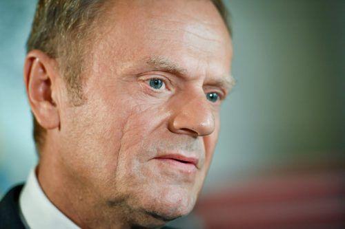 EU-Ratschef Donald Tusk befürchtet Worst Case Scenarios. afp