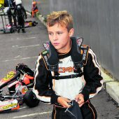 Vorarlberger Kart-Talent alsGrid-Kid in Spielberg