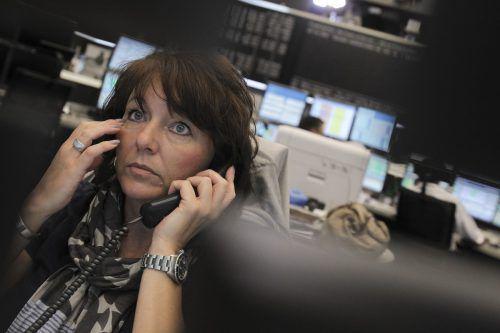 Die Börsen sind durch den Brexit und den Handelsstreit belastet. Reuters