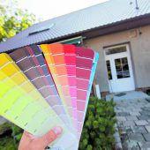Frische Farbe fürs Eigenheim