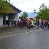 Haselstauder pilgern nach Bildstein
