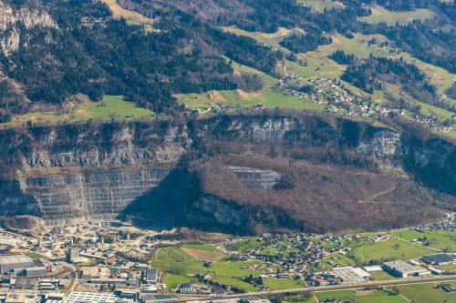 Die geplante Steinbrucherweiterung sorgt für Kontroversen.M. Walser