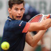 Thiem forderte Nadal, verlor aber das Finale in Paris in drei Sätzen. C1