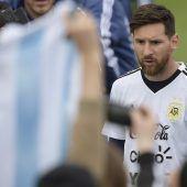 Autogramme und Selfies mit WM-Star Messi