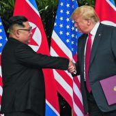 Kim bekennt sich zu nuklearer Abrüstung