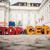 CETA ist auf Schiene