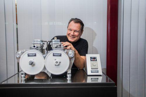 Auch das Lustenauer Ingenieursunternehmen Obrist (im Bild CEO Frank Obrist) nutzt die Möglichkeiten des Forschungsrahmenprogramms Horizon 2020.VN/Steurer