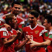 WM-Traumstart für Russlands Prachtkerle