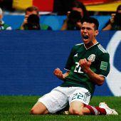 Mexiko schockt den Weltmeister