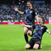 3:0! Kroatien im Achtelfinale. Argentinien um Superstar Messi vor dem Aus. C1