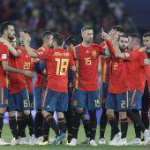 Spanien und Portugal mit Mühe im Achtelfinale der Fußball-WM. C1–3