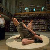 Junges Vorarlberger Theaterensemble trumpft in der Landesbibliothek auf. D7