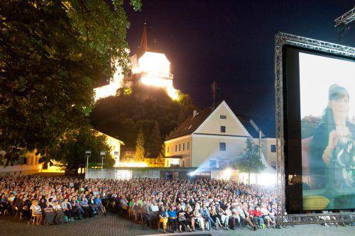 Fixpunkt im Rankweiler Sommer: Das Open-Air-Kino am Marktplatz. Dietmar Mathis