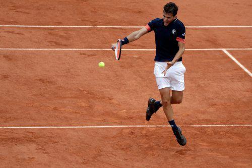 French-Open-Finalist Dominic Thiem ist einer jener Tennisspieler, die Federer und Nadal als designierte Nachfolger sehen.AFP