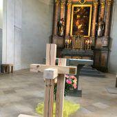 Ein Kreuz als Symbol der Gemeinsamkeit