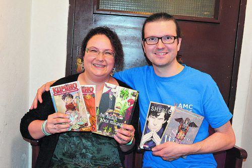 Gabriele Hutterer-Wulst und Alexander Wulst sind leidenschaftliche Manga-Liebhaber.