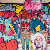 Farbenprächtige Graffiti-Kunst im Magazin 4