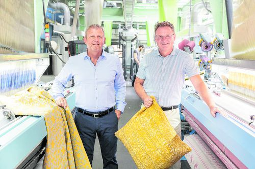 Gottfried Wohlgenannt (l.) und Jürgen Spiegel haben das Unternehmen David Fussenegger im Jahr 2011 übernommen. FA